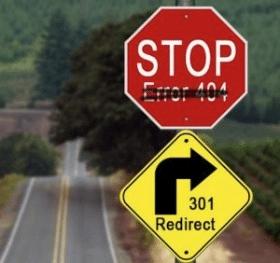 301 redirect als omleiding voorgesteld